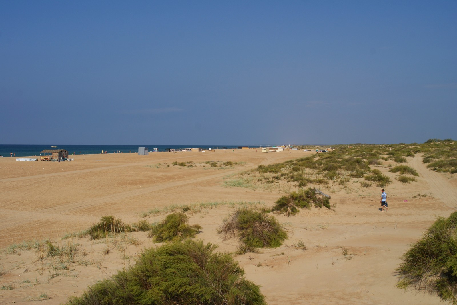 Благовещенская фото поселка и пляжа 2018