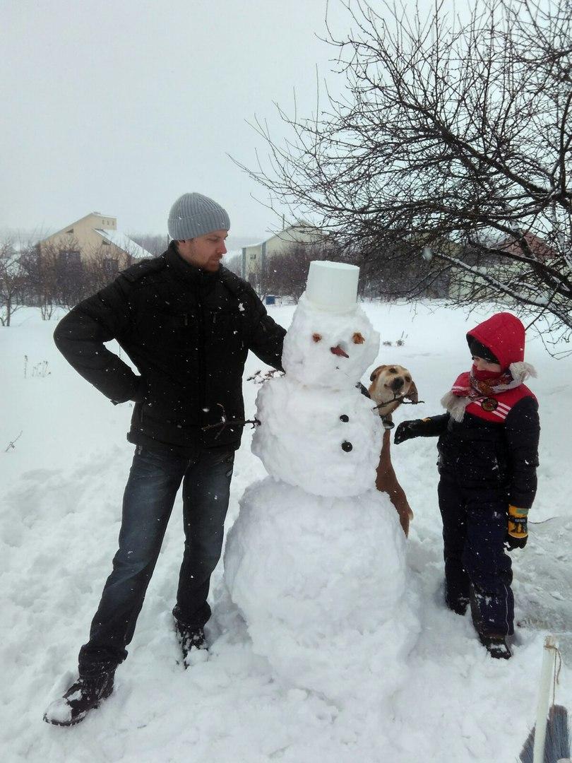 белгород снеговик