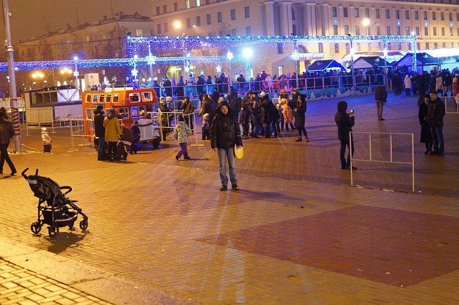 зима 2017 площадь белгород