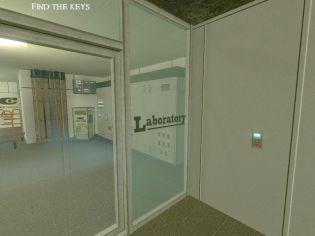 Дверь в лабораторию